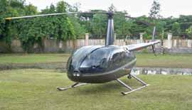 Robinson (4 Seater) Helicopter